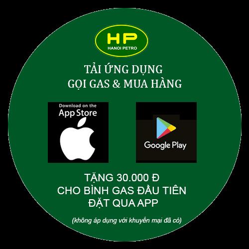 Tải ứng dụng gọi gas